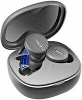 Écouteurs Sports sans Fil Bluetooth 5.0 Noir TWS Extra Confortable avec crochets