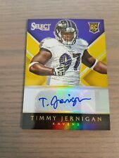 TIMMY JERNIGAN 2014 SELECT ROOKIE AUTOGRAPHS PRIZM 10/10 Eagles