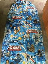 1970s Battlestar Galactica Curtain Drapery Panel Sears One Colorful