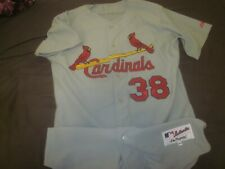 2000's St. Louis Cardinals Game Used Road Jersey #38 Marty Mason LOA