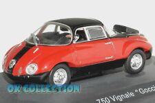 """1:43 FIAT ABARTH 750 VIGNALE """"GOCCIA"""" - 1957 _ Abarth Collection Hachette (25)"""