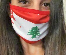 Lebanese Flag Face Mask
