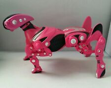 WowWee Robopet Robot Toy 2005 Pink Remote Control Dog VGUC NO REMOTE