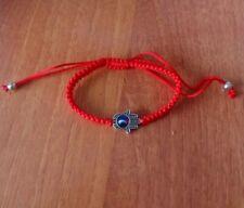 Red Lucky Kabbalah Bracelet String Evil Eye Charm Jewelry Again Protection Hamsa