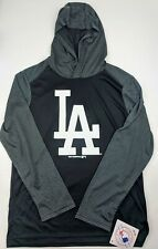 LA Dodgers Boys Long Sleeve Shirt with Hoodie Large 12/14