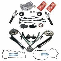 For 04-08 Ford 5.4L 5.4 3V Timing Chain Cam Phaser Solenoid Valve Oil Pump Kit