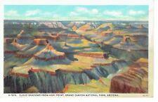 =Fred Harvey H-1515 Grand Canyon Arizona Hopi Point 1912 Cloud Shadows Postcard