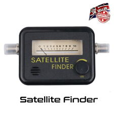 Sat Finder Satellite Signal Meter - SKY Freesat Satellite Dish *UK Seller*
