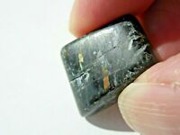 22x17x10mm  RARE GENUINE NATURAL TUMBLED NUUMMITE 9.5g GREENLAND;Orgone  #123