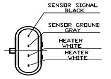 Oxygen Sensor ALFA ROMEO 147 : 156 : GT : GTV : SPIDER : LEMARK LLB389