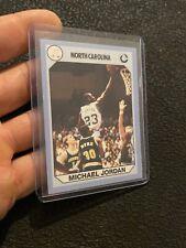 Michael Jordan Vintage Collector Card North Carolina Tarheel Last Dance UNC 1990