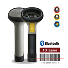 1D Wireless Bluetooth Laser Barcode Scanner for iPhone IOS Android W/ USB 2.0