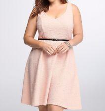 Torrid Plush Textured v Neck Skater Dress Size 2 aka 18 20 - 2X  #96083