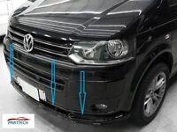 VW T5 CARAVELLE MULTIVAN 2009-2015 ABS FRONT SPLITTER - SPOILER -LOWER SPLITTER