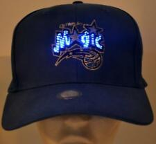NBA Orlando Magic Fiber Optic Hat,Cap,Adjustable,New,Led,Blue+White,Magic Logo