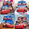 McQueen Cars Single Size Bed Quilt Doona Duvet Cover Set Bed Pillow Case