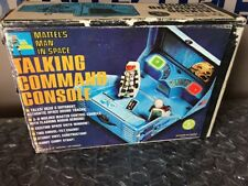 MATTEL MAJOR MATT MASON TALKING COMMAND CONSOLE 1966 In RARE BOX