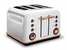Morphy Richards Accents 4 Slice Toaster - White
