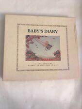 Vintage Baby's Diary memories Henriette Willebeek Le Mair Philomel Baby Books