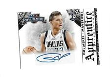 2013-14 PANINI CRUSADE Apprentice Signatures GAL MEKEL RC (Mavericks)