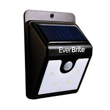 Solar Power LED Light Ever Brite Motion Activated Outdoor Super Bright NEW