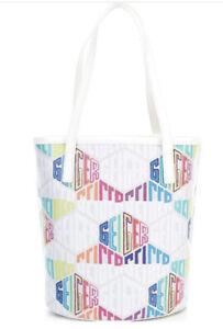 Kurt Geiger London Logo North South Signature Shopper Tote Bag--NWT $195