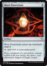 2x Worn Powerstone (Abgenutzter Kraftstein) Commander 2017 Magic
