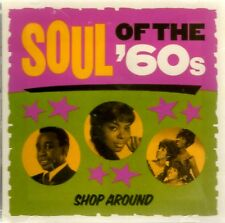 Soul Of The 60's Shop Around CD 16 Hits New & Sealed Time Life