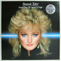 BONNIE TYLER Faster Than The Speed Of Night  UK Vinyl LP EXCELLENT CONDITION  B