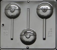 Pokemon Lollipop Chocolate Candy Mold 3456 NEW Pokeball