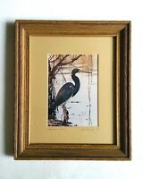 Louisiana Heron Art Photo La Freniere Park - Framed, Matted & Numbered 10/50