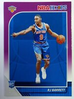 2019-20 Panini NBA Hoops Purple RJ Barrett Rookie RC #201, New York Knicks