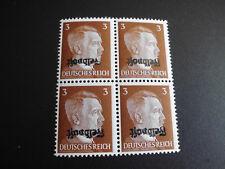 """DR Briefmarken Feldpost Ruhrkessel Mi.Nr. 17 Kopfsteher """"Lückenfüller"""" LESEN !!!"""