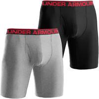 "Under Armour Mens UA Original 9"" Boxerjock Boxer Briefs Long Underwear"