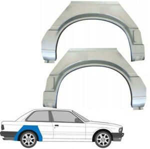 BMW 3 E30 1987-1994 2 DOOR REAR WHEEL ARCH REPAIR PANEL REAR WING / PAIR