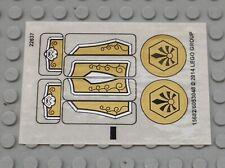 Autocollant LEGO sticker ref 15682 - 6053048 - 70123stk01 / Set 70123 Lion