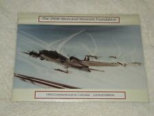 NEW 1993 390th Bombardment Group Memorial Museum Foundation Calendar WWII Planes