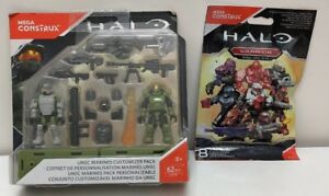 Halo Marines Customizer Pack And A Warrior Blind Pack Series FDY41
