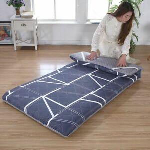 2021 Thick Tatami Mattress Foldable Mattress Single Double elastic cotton pad