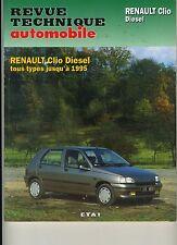 (1A) REVUE TECHNIQUE AUTOMOBILE RENAULT CLIO DIESEL jusqu'à 1995