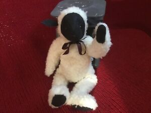 "Boyds Bears 10"" Plush White SHEEP Vintage White Tush Tag - Jointed 1989"