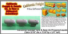 Horizontal Storage Tank & Base Air/Propane/Liquids N/1:160-CAL Freight & Details