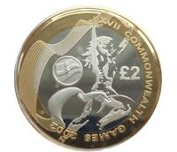 2002 £2 COMMONWEALTH GAMES IRELAND TWO POUND COIN HUNT 06/32 RARE 2 xx