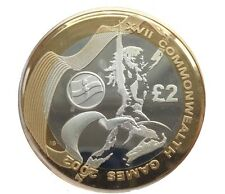 2002 £2 COMMONWEALTH GAMES IRELAND TWO POUND COIN HUNT 06/32 RARE 2 b