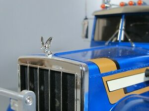 Metal Hood Eagle Grill Ornament Emblem Tamiya 1/14 TOY King Grand Knight Hauler