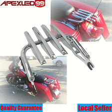 Detachable Stealth Luggage Rack For Harley Touring Road King Electra Glide 09-16