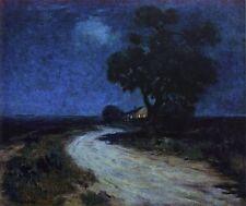 Julian Onderdonk Oil Painting repro Moonlight in South Texas