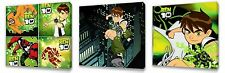 Ben 10 III  set of Three Wall / Plaques canvas pictures