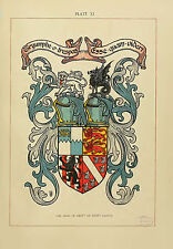 The art of heraldry : an encyclopædia of armory (1904) Book On CD