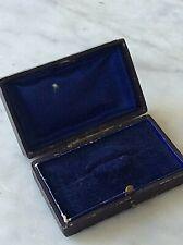 Brooch Box Antique Jewellery Case Victorian  (814J)